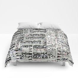 My Friend, Surveillance (P/D3 Glitch Collage Studies) Comforters