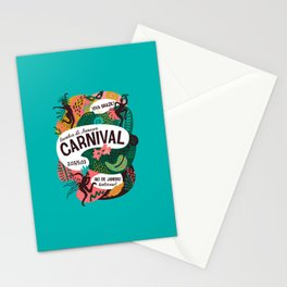 Carnaval 2019 Stationery Cards