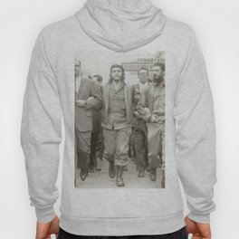 Che Guevara, Fidel Castro and Revolutionaries Hoody