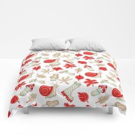Mushroom Month Comforters