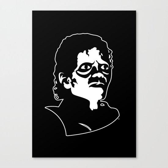 Michael Jackson's Thriller for Halloween Canvas Print