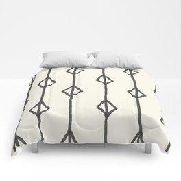 Hand-drawn diamond pattern Comforters