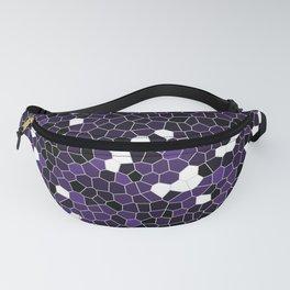 Indigo Purple Polycamo Fanny Pack