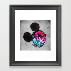 Evil Mickey 2 Framed Art Print