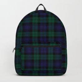 Blackwatch Modern Tartan - Scottish Tartan Backpack