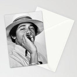 President Obama Smoking Stationery Cards