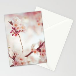 Sweet spring Bloom | Nature pink flowers photography Stationery Cards