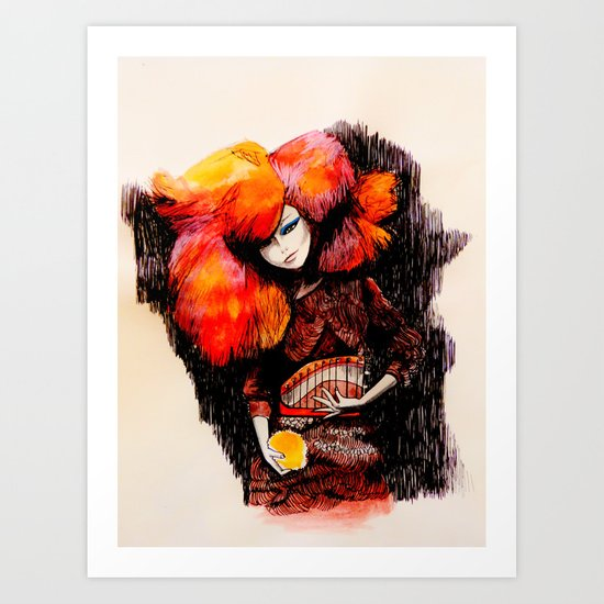 Björk - Biophilia Art Print