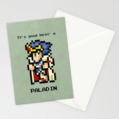 It's Good Bein' A Paladin Stationery Cards