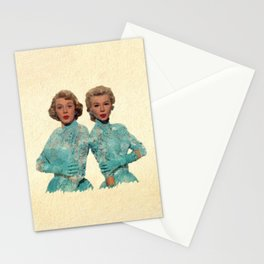 Two Different Faces... (Sisters) Stationery Cards