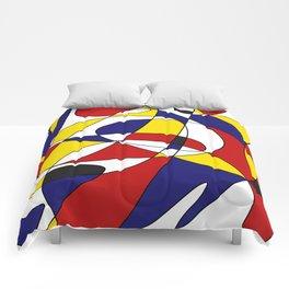 MONDRIAN AND GAUSS Comforters
