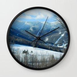Ski Trails at Sugarbush Resort, Vermont Wall Clock