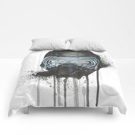 Kylo Ren - Empty Mask Comforters