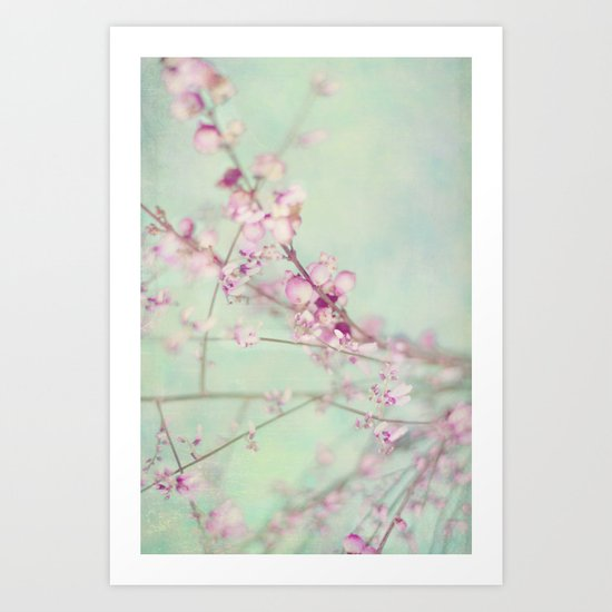 Pink Symphony Art Print