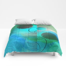 geometrical still-life -2- new upload Comforters