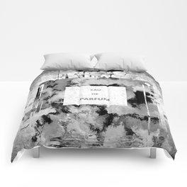 Perfume Black and White Comforters