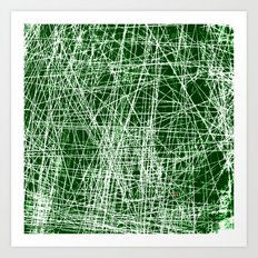 RAYURES Art Print