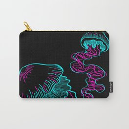 triplets neon Carry-All Pouch