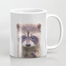 Raccoon - Colorful Coffee Mug
