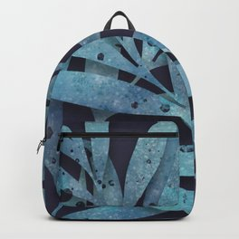 Watercolor Ferns Backpack