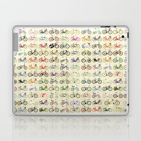Bikes Laptop & iPad Skin