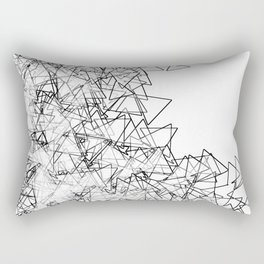 Minimalist origami Rectangular Pillow