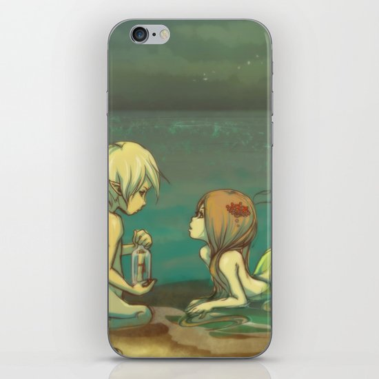 Message in the bottle iPhone & iPod Skin