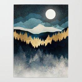 Indigo Night Poster