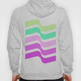 Bends Style 2 Top Color skewing Abstract; new gray decorations;Love is allowed Hoody