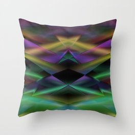 Geometric abstract disign Throw Pillow