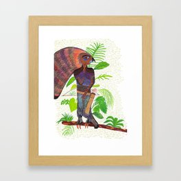 Oxossi Framed Art Print
