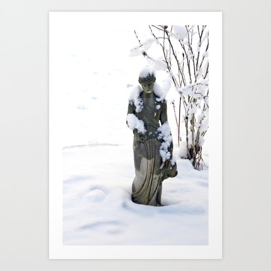 Lonely and Cold Art Print