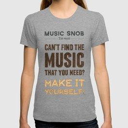 D. I. Y. — Music Snob Tip #608 T-shirt