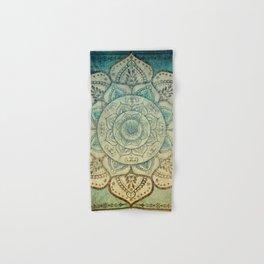 Faded Bohemian Mandala Hand & Bath Towel