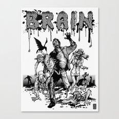 Brain Canvas Print