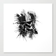 Storm Trooper (white) - Star Wars Canvas Print