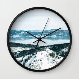 Squaw Wall Clock