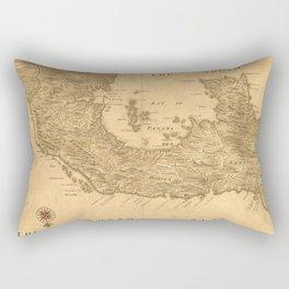Vintage Map of Panama (1800) Rectangular Pillow