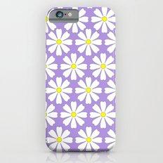 Lilac daisies Slim Case iPhone 6s