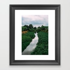Banana River Framed Art Print
