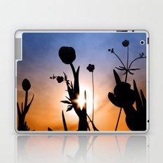Tulips in the sun (color) Laptop & iPad Skin