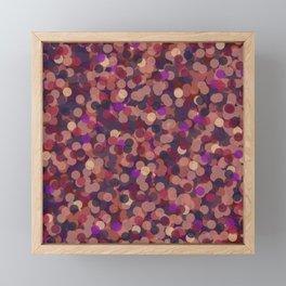 Dots 3 Framed Mini Art Print