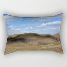 Mountain In Kazakstan Rectangular Pillow