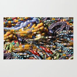 gems, beads, prayers Rug