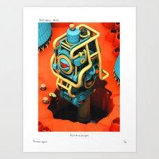 POP HELL # 10 Art Print