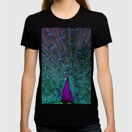 BLOOMING PEACOCK T-shirt