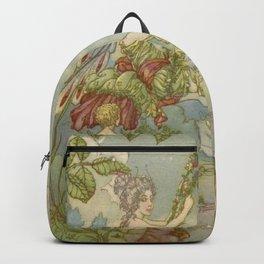 """""""The Garden Fairy Swing"""" by Harold Gaze 1929 Backpack"""