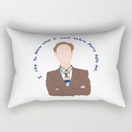 Niles Crane Rectangular Pillow