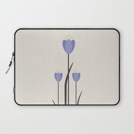Minimal Bluebells Laptop Sleeve