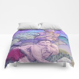 gays in space Comforters